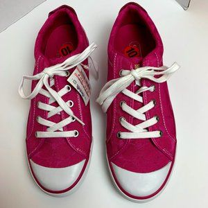 Coach Pink NWT 10 Lace Up Sneaker Designer Barrett